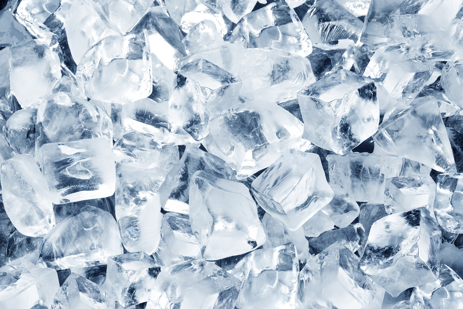 Background in the form of ice cubes