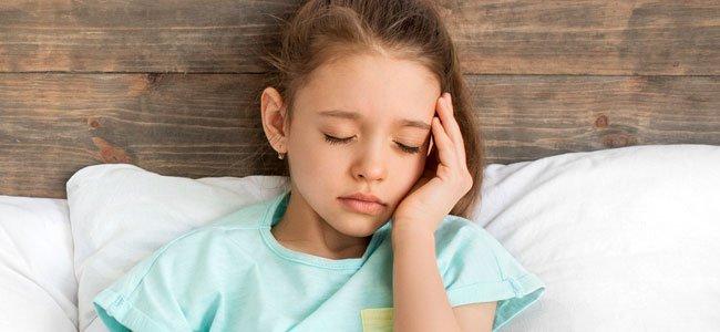 Dor de cabeça infantil