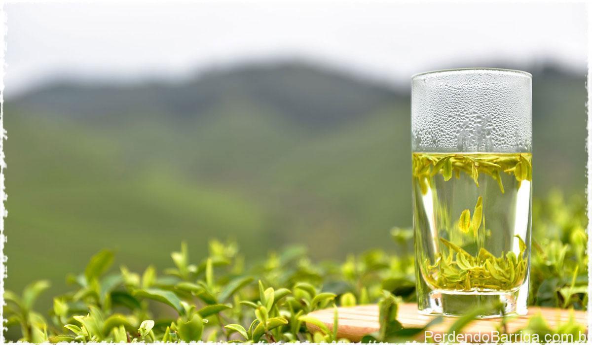 Copo chá verde