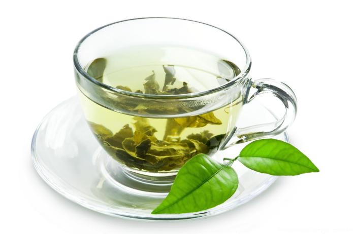 Xícara chá verde