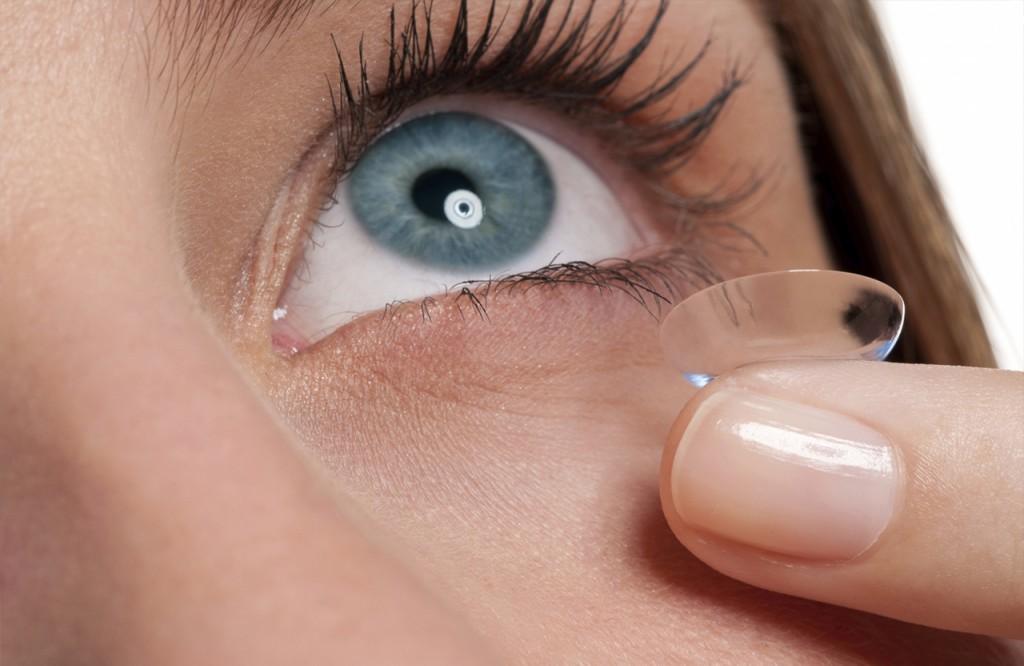 lente de contato