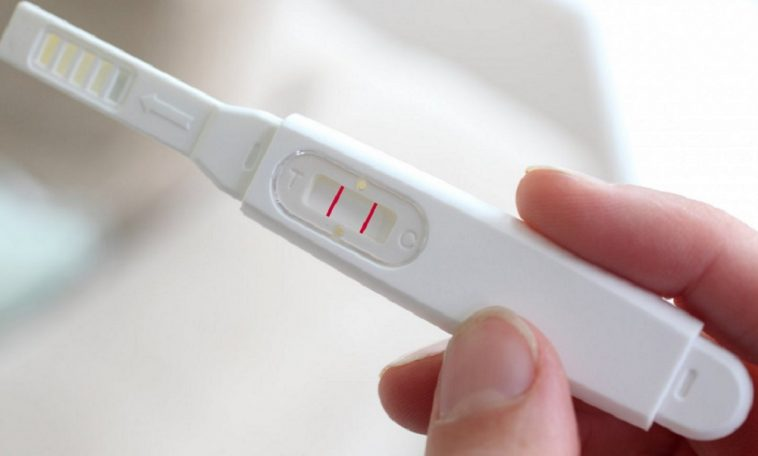 teste de gravidez caseiro