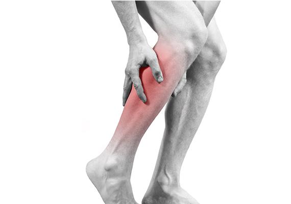 Cãibras na perna