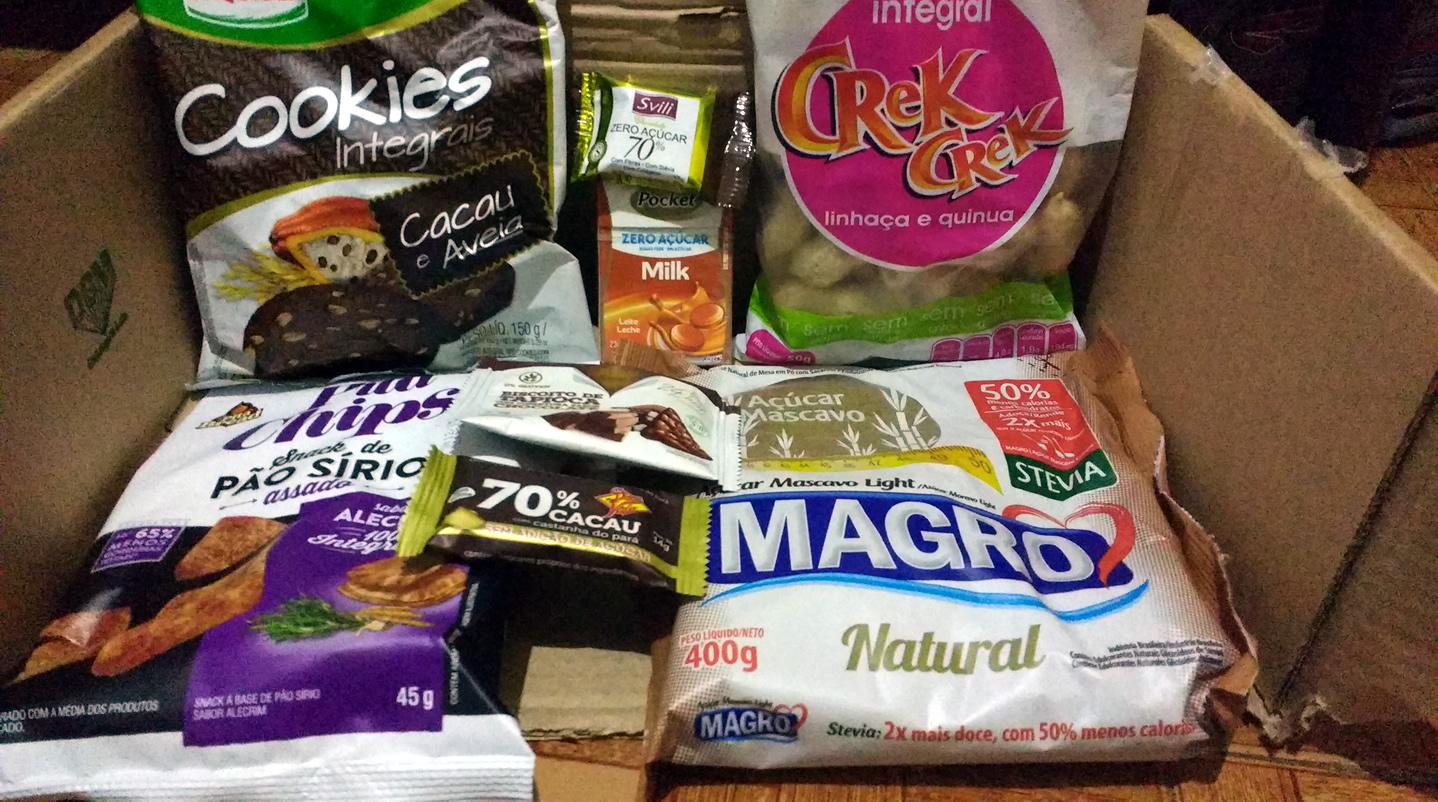 Produtos sem gluten e lactose