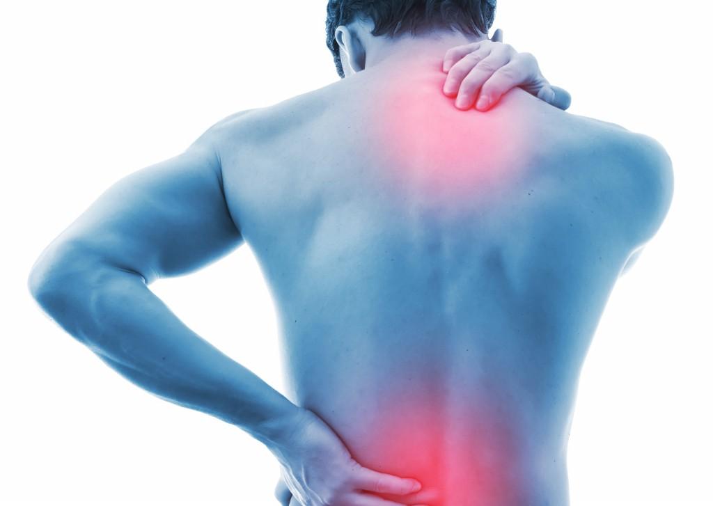 dor nas costas esquerda inferior ao mover perna não ciática