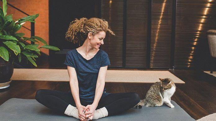 Posições de Yoga para iniciantes